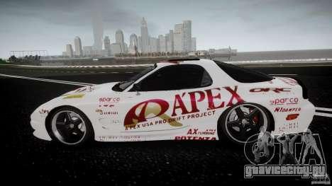 Mazda RX7 FD Apex Imamura для GTA 4 вид слева