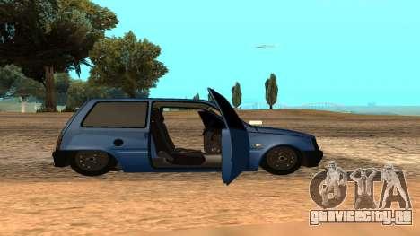 ВАЗ Ока 1111 для GTA San Andreas вид сбоку