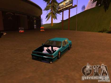 Willard Drift Style для GTA San Andreas