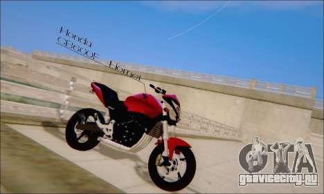 Honda CB600F Hornet 2012 для GTA San Andreas вид слева