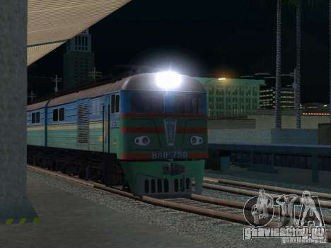 ВЛ8м-750 для GTA San Andreas вид сзади