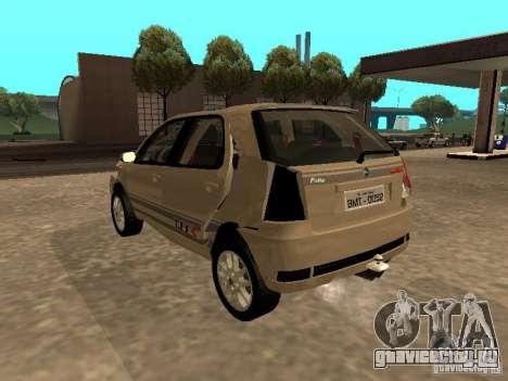 Fiat Palio 1.8R для GTA San Andreas вид сверху