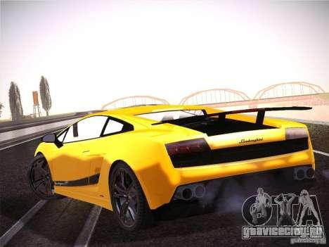 Orange ENB by NF v1 для GTA San Andreas третий скриншот