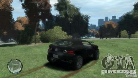 Volkswagen Concept для GTA 4 вид сзади слева