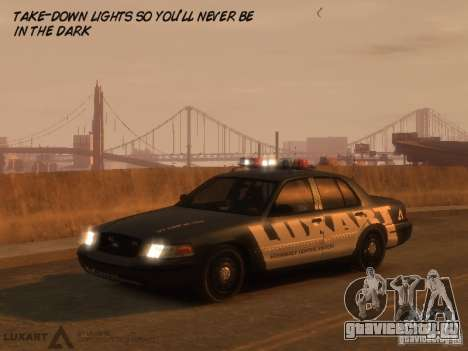 EMERGENCY LIGHTING SYSTEM V6 для GTA 4 третий скриншот