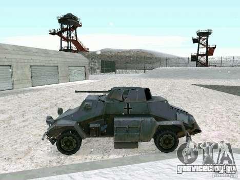 Бронетранспортёр из игры В Тылу врага 2 для GTA San Andreas вид справа