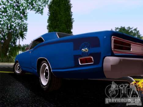 Dodge Coronet Super Bee v2 для GTA San Andreas вид справа