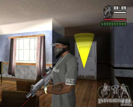 Винтовка с лазерным прицелом для GTA San Andreas второй скриншот