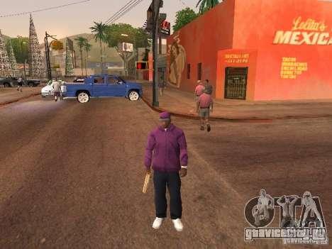 Ballas 4 Life для GTA San Andreas десятый скриншот