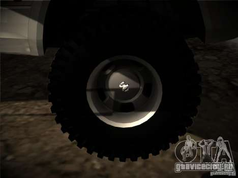 Dodge Ram 3500 4X4 для GTA San Andreas вид сбоку