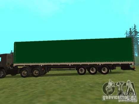 НефАЗ 93344 Зеленый для GTA San Andreas вид слева