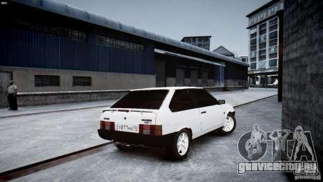 ВАЗ 21083i для GTA 4 вид сзади