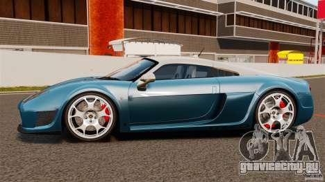 Noble M600 Bicolore 2010 для GTA 4 вид слева