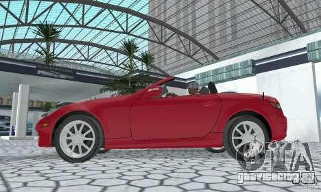 Mercedes-Benz SLK 350 для GTA San Andreas вид справа