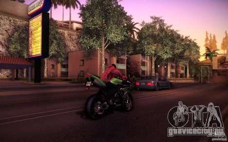 Yamaha YZF R1 для GTA San Andreas вид сзади