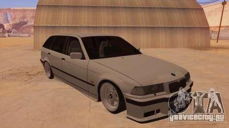 BMW M3 E36 Touring для GTA San Andreas вид сзади