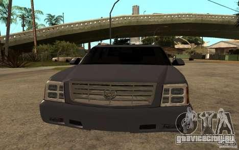 Cadillac Escalade pick up для GTA San Andreas