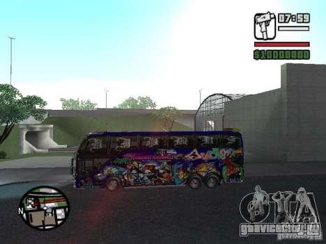 Neoplan для GTA San Andreas вид сзади слева