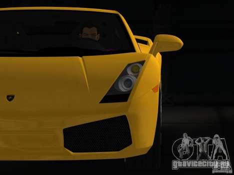 Lamborghini Gallardo для GTA Vice City вид справа