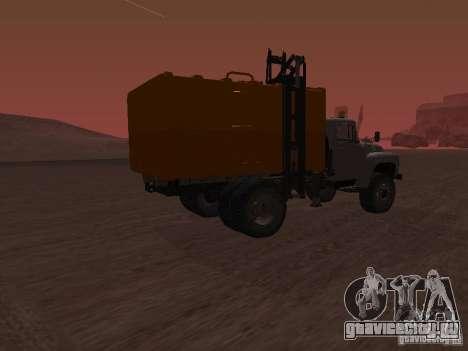 ЗиЛ 431410 Мусоровоз для GTA San Andreas вид слева