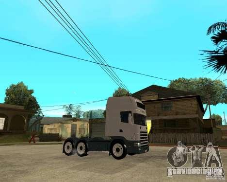Scania 164L 580 для GTA San Andreas вид справа