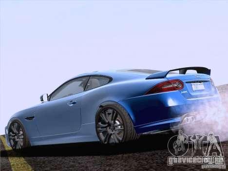 Jaguar XKR-S 2011 V2.0 для GTA San Andreas вид слева