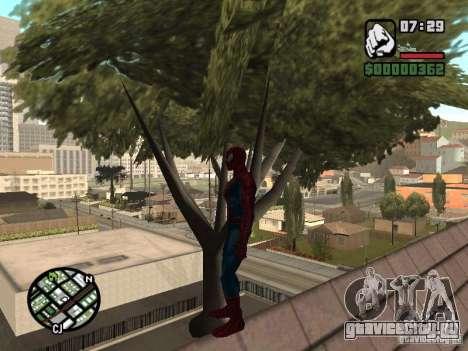 Spider Man From Movie для GTA San Andreas восьмой скриншот