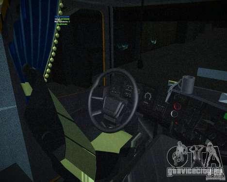 Scania 164L для GTA San Andreas вид справа
