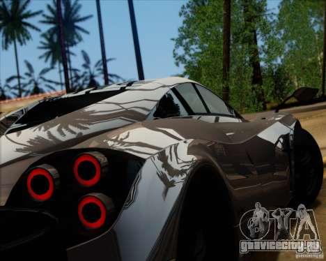 Pagani Huayra 2011 для GTA San Andreas вид слева