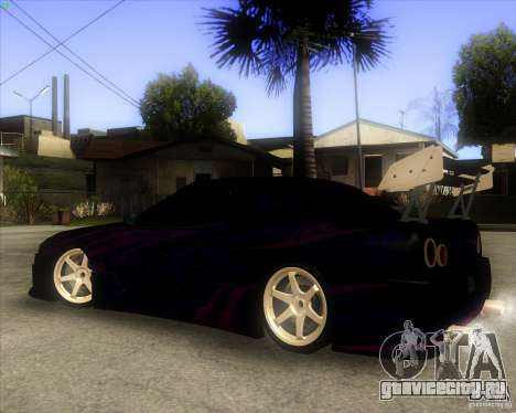 Elegy 0.2 для GTA San Andreas вид изнутри