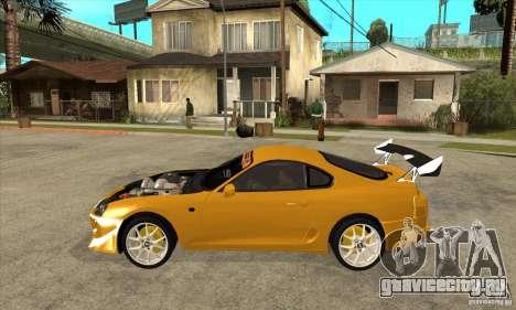 Toyota Supra D1GP для GTA San Andreas вид слева