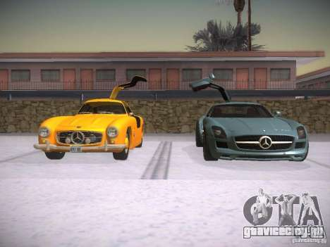 Mercedes-Benz 300SL для GTA San Andreas вид сбоку