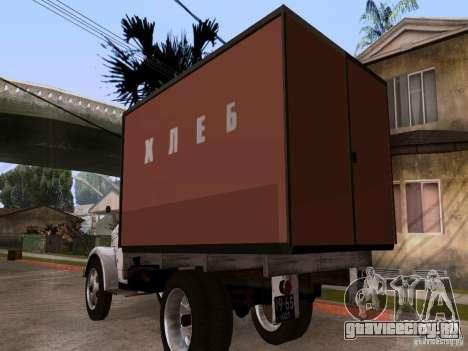 ГАЗ 51 Хлеб для GTA San Andreas вид сзади слева