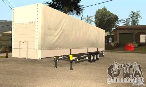 Trailer для GTA San Andreas вид слева