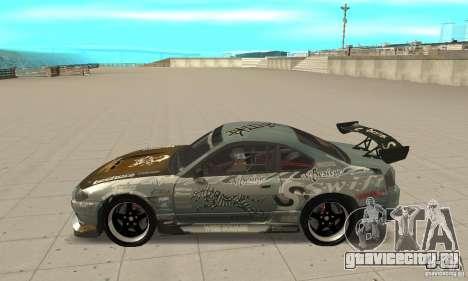 Nissan Silvia S15 [F&F3] для GTA San Andreas вид слева