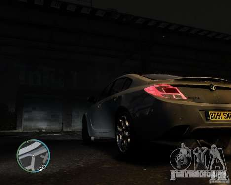 Vauxhall Insignia v1.0 для GTA 4 вид слева