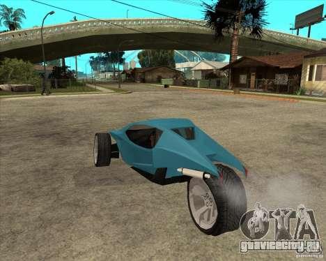 AP3 cobra для GTA San Andreas вид слева