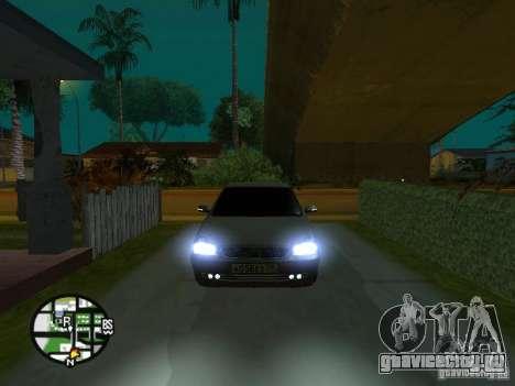 Ваз 2172 Приора для GTA San Andreas салон