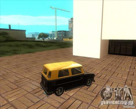 VW Typ 147 - Fridolin для GTA San Andreas вид слева