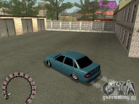 ВАЗ 2170 Lada Priora для GTA San Andreas вид слева