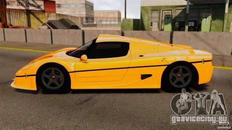 Ferrari F50 GT 1996 для GTA 4 вид слева