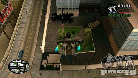 Новые текстуры госпиталя в Los Santos для GTA San Andreas четвёртый скриншот