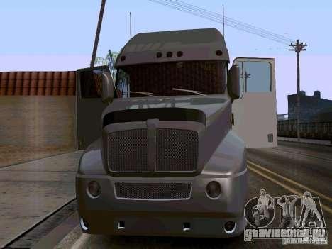 Kenworth T2000 v.2 для GTA San Andreas вид слева