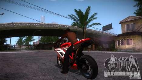 Ducati 1098 для GTA San Andreas вид сзади слева