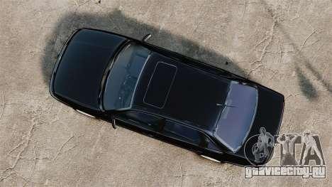 Volkswagen Passat B4 для GTA 4 вид справа