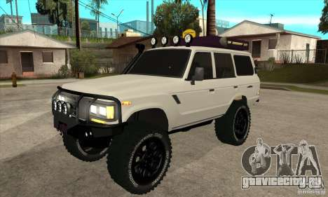 Toyota Land Cruiser 70 1993 Off Road Samurai для GTA San Andreas