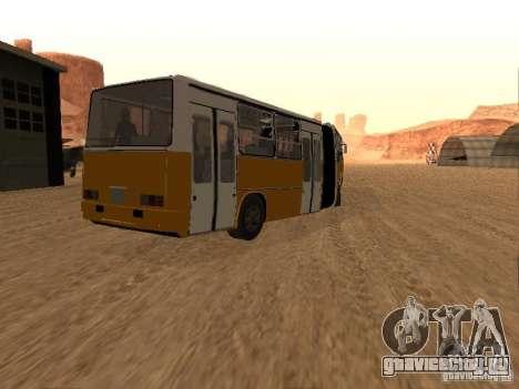 Прицеп к Икарусу 280.46 для GTA San Andreas вид слева