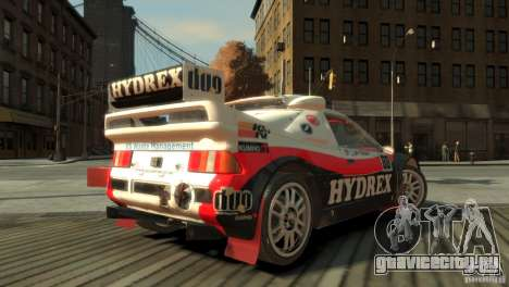Ford RS200 Evolution Rallycross для GTA 4 вид слева
