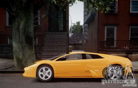 Lamborghini Murcielago для GTA 4 вид сзади слева