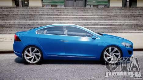 Volvo S60 Concept для GTA 4 вид изнутри